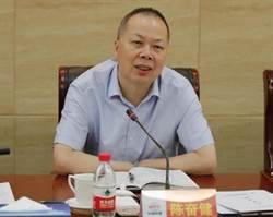 陸國企龍頭 中國鐵建董事長陳奮健 墜樓亡
