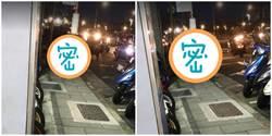 美食外送員信義區人行道「激戰」阿北 網:是在啪啪啪?