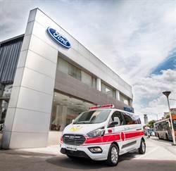 Ford Tourneo Custom旅行家投身救護車市場 以五星安全完成救人使命