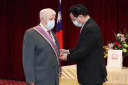 尼加拉瓜大使離台 獲頒大綬景星勳章