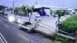 湖內小貨車撞倒路燈桿 原來是酒駕惹禍