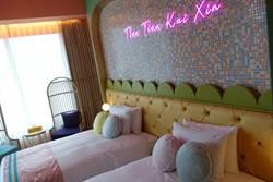 「和苑三井花園飯店」台北登場 客房具粉紅少女心 頂樓大浴場可遠眺101