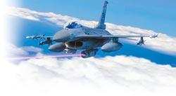 挑釁 美演示F-16雷射砲襲陸艦