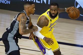 NBA》湖人詹姆斯:今年季後賽苦戰必至
