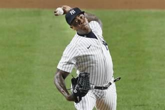 MLB》洋基查普曼回歸變猛男 火球連發橫掃紅襪