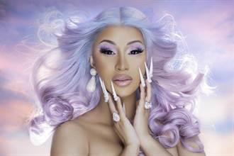 「超殺饒舌女王」卡蒂B刷新串流紀錄 空降全美單曲冠軍
