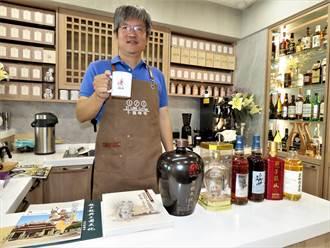 車庫變身咖啡店 土木技師開趙子龍主題咖啡館