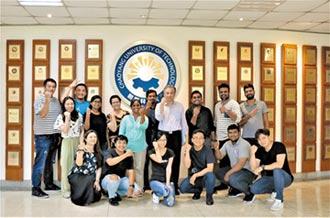 朝陽科大國際化校園 印度學生歡慶兄妹節