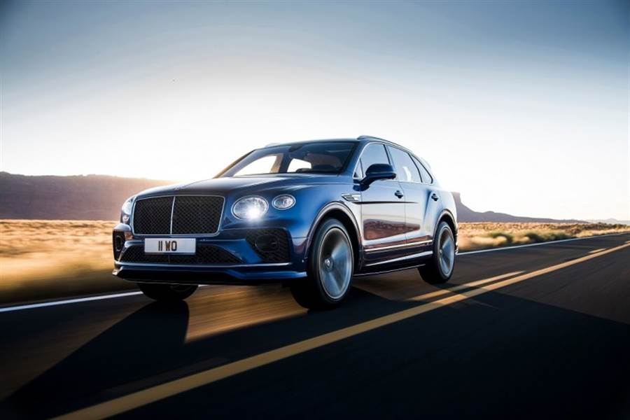Bentley推出小改款Bentayga Speed具備635匹零百加速3.9秒震撼性能