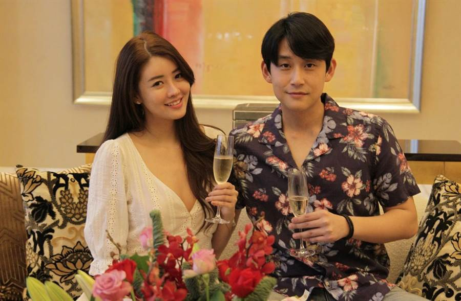賴琳恩和陳乃榮結婚後依舊打扮性感。(圖/本報系資料照)