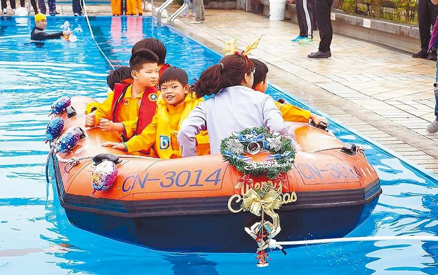 新北市將在22日、23日於台北港海巡基地舉辦「港灣親水嘉年華」,規畫巡防艦體驗、小小海巡體驗、黃昏音樂會等活動。(新北市經發局提供/許哲瑗新北傳真)