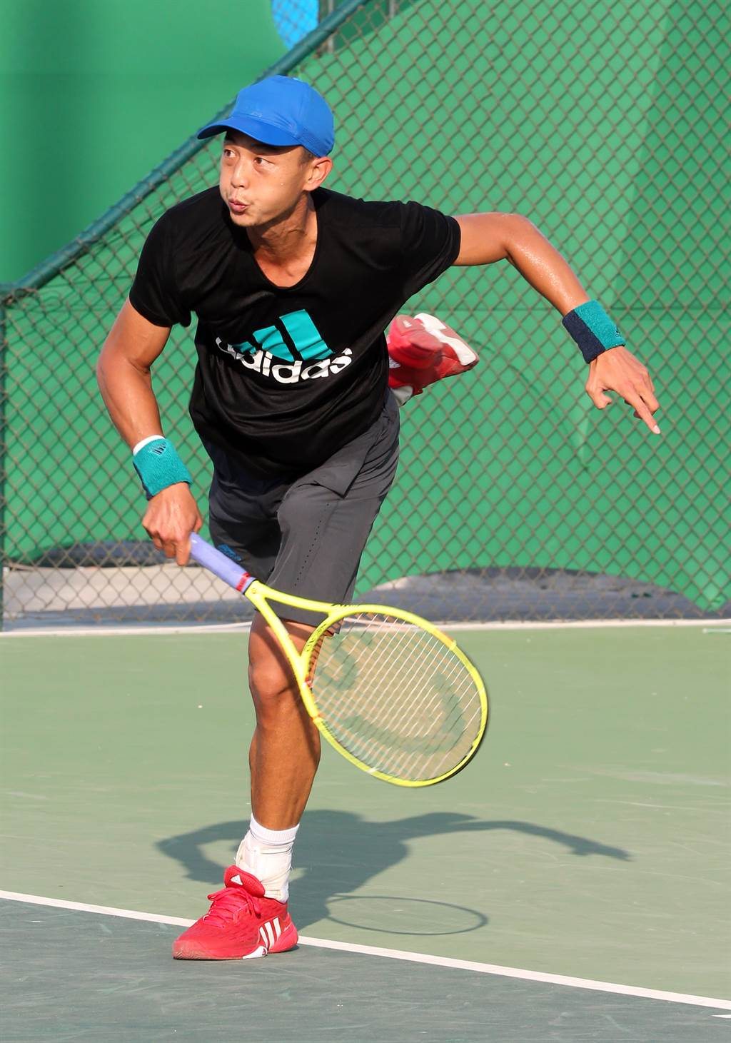 「網球一哥」盧彥勳今天在臉書宣布不參加今年美網賽、法網賽。(資料照/陳信翰攝)