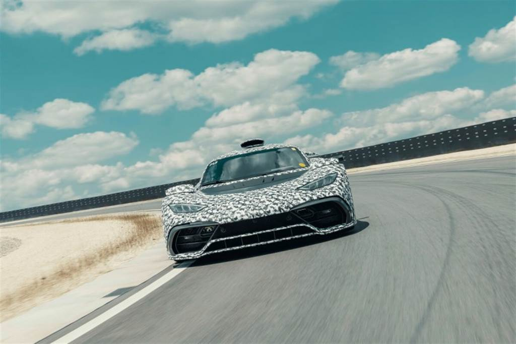Mercedes-AMG Project ONE開始大量進行道路與賽道測試