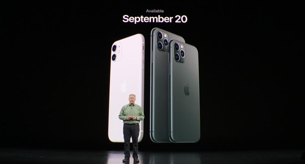 蘋果iPhone 11系列在2019年9月發表,今年的接班人何時才會亮相,大家都在猜!(摘自蘋果官網)