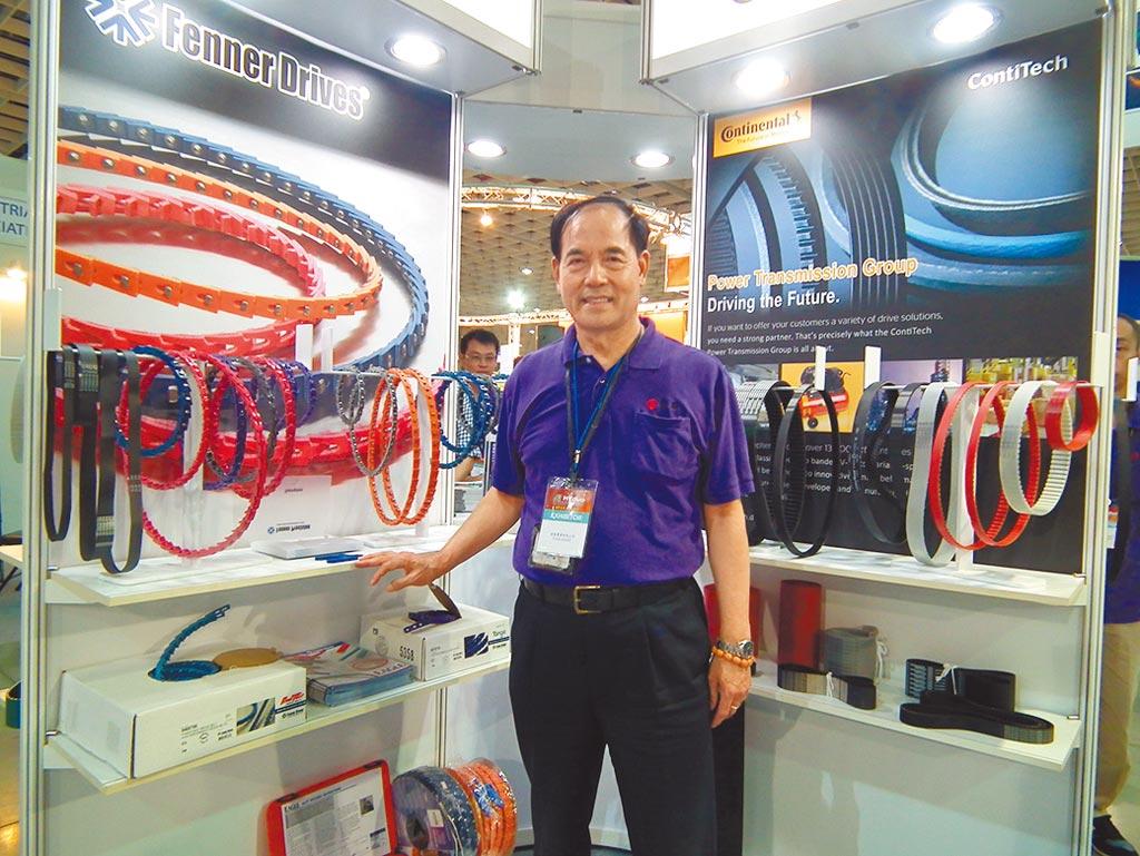 達基實業總經理張福霖表示,達基因應自動化設備廠的技術提升,引進全球最高端的PU鋼絲皮帶,提供高精度、低噪音等符合國際要求規範。圖/李水蓮