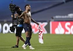 歐冠》交換球衣違規 內馬恐缺席決賽