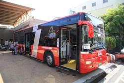 台中525路公車開通 串連台鐵捷運縫合城鄉交通