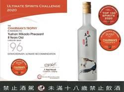 台灣菸酒 續奪國際酒品獎項