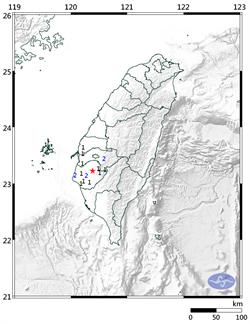 六甲連3起規模4以上地震 地震測報中心:岩層破碎所致
