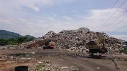 草屯垃圾山移除工程 預計2022年完工