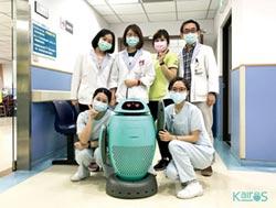 創科智盈 KAIROS防疫機器人亮相