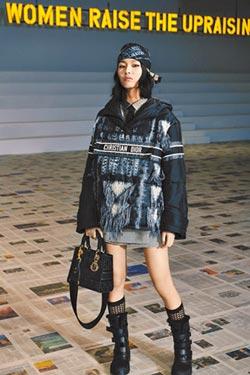 絲絨光澤刺繡設計 Dior秋冬掀奢華風