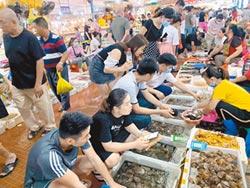 想吃广西生猛海鲜 再忍几天