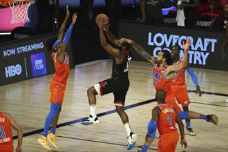 NBA》韋少缺陣哈登37分 火箭升空摧毀雷霆