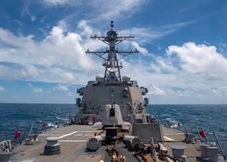 美台分別證實 美驅逐艦馬斯廷號航經台海
