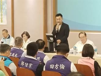 續打公投議題 江啟臣端出林義雄抨擊民進黨執政濫權
