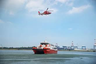 海洋風電攜手海巡署 共同執行陸海空聯合演練
