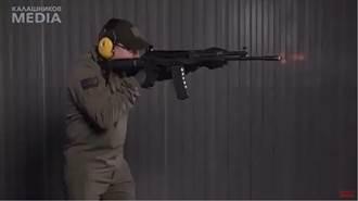 俄羅斯AK-19 突擊步槍 竟採用北約標準口徑5.56公釐