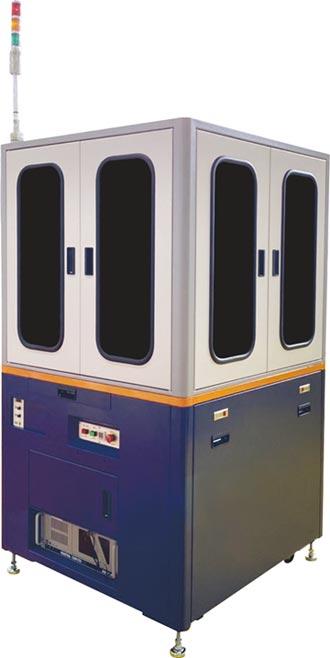 精湛 推晶片型電子元件外觀檢查機