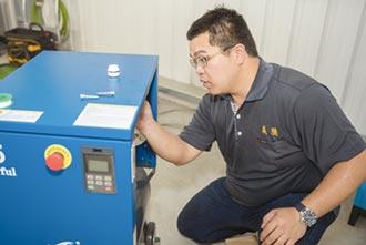 義騰雙驅磁懸浮變頻空壓機 高效節能