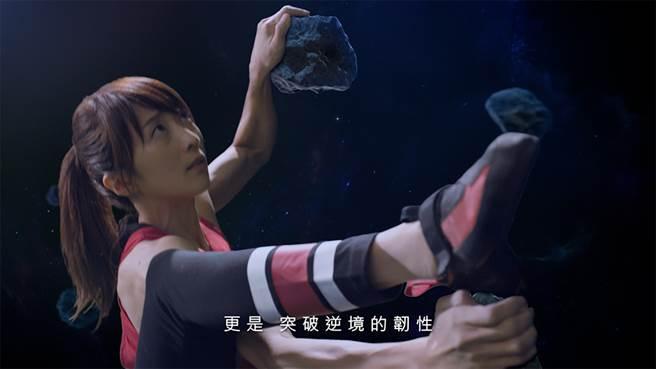 攀岩國手李虹瑩擁有「沒在怕的 自信」!與遠雄人壽精神一致/遠雄人壽提供