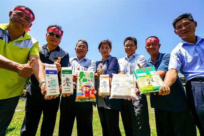 農糧署東區分署與宜蘭縣各農會將前往台北,讓都會區民眾有機會品嘗優質的宜蘭米。(李忠一攝)
