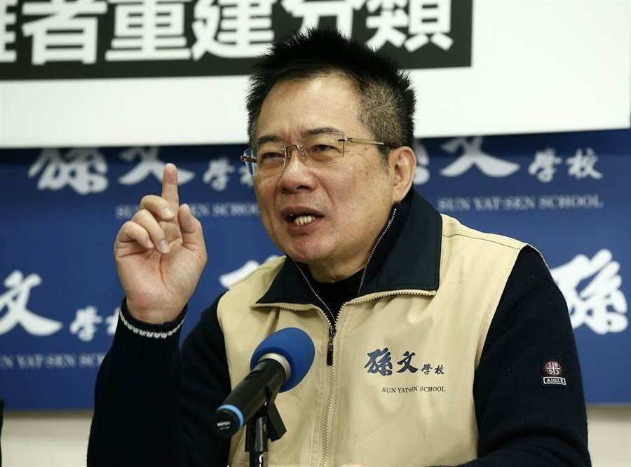 前國民黨立委蔡正元。(資料照片)