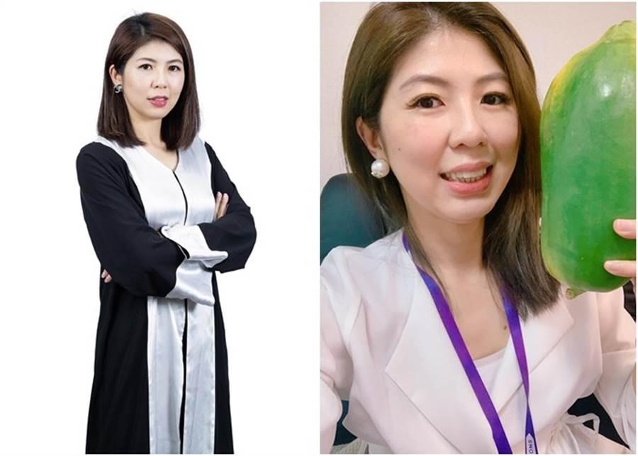 美女律師李怡貞。(圖/翻攝自Facebook/女人大律師李怡貞)