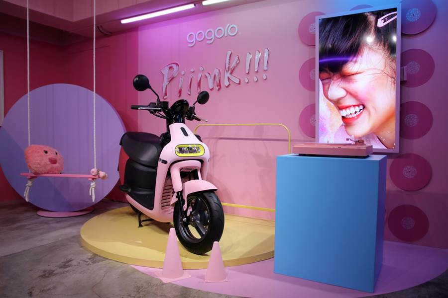 Gogoro不只推出最新粉紅VIVA 還開了一間網美咖啡廳?