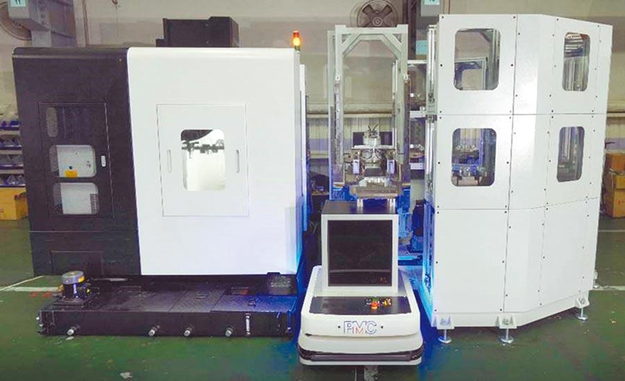 PMC獨家推出智能工廠整合方案,提供全方位升級機器人智能工廠,24小時自動化生產,產量倍增。圖/PMC提供