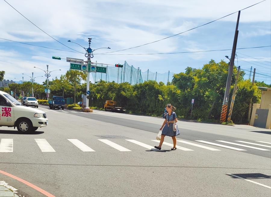 汽、機車駕駛普遍未有禮讓行人觀念,桃園市交通警察大隊統計,今年上半年行人穿越道發生8死、497傷案件。(賴佑維攝)