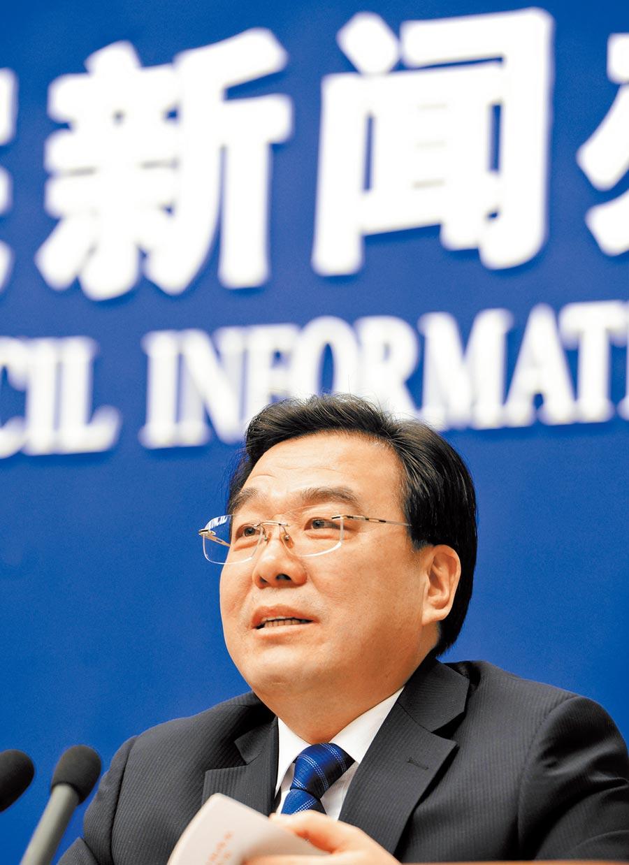青海省代理省長信長星。(中新社資料照片)