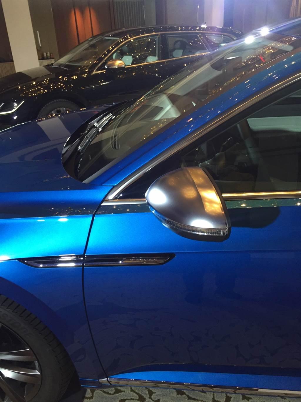預計 8/21 開啟預售,Volkswagen Arteon/Arteon Shooting Brake 小改款實車在台曝光!