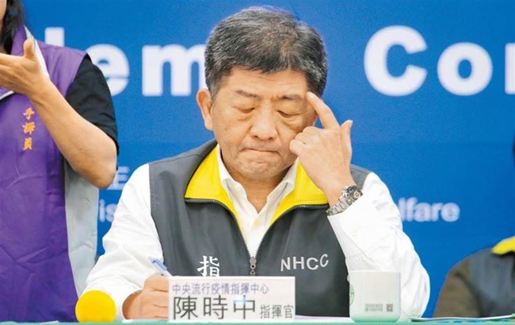 衛福部長陳時中。 (資料照片)
