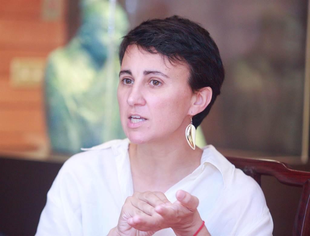 西班牙編舞家瑪芮娜.麥斯卡利曾任職荷蘭舞蹈劇場舞者,多次與台灣舞蹈空間舞團合作。(張鎧乙攝)