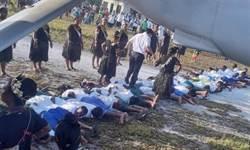 學童鋪人肉地毯迎賓 外交部:這不是我們認識的吉里巴斯