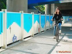 頭前溪南岸經典自行車道9月即將完工