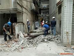 北市331件占用防火巷違建成立專案拆除