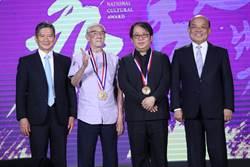 朱宗慶捐行政院文化獎100萬獎金 陳錫煌謝觀眾還肯看布袋戲
