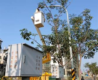 高市路燈全面LED化 年底前完成汰換